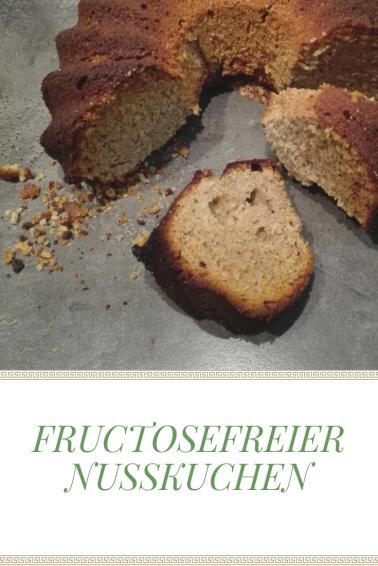 Fructosefreier Nusskuchen