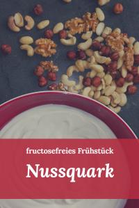 Fructosefreies Frühstück Nussquark