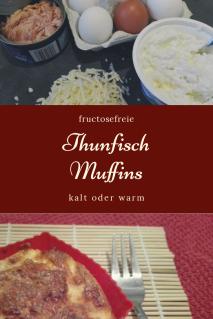 Thunfischmuffins in der fructosefreien Karenzzeit