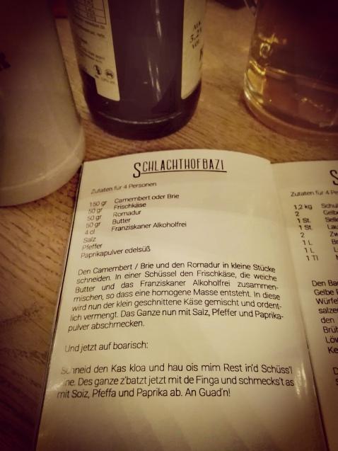 Biergarten Schlachthofbazi Karenzzeit Fructoseintoleranz