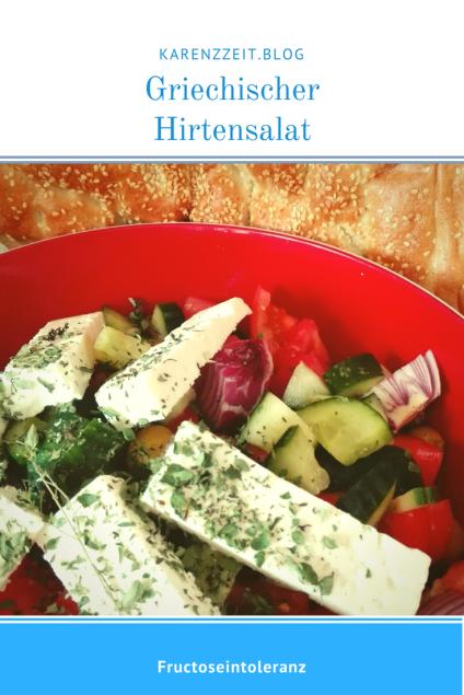 Was darf ich essen Fructoseintoleranz Griechischer Salat