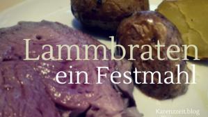 Was darf ich essen Fructoseintoleranz Ostern Lammbraten