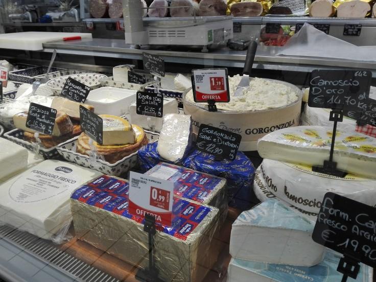 Was darf ich essen Italien Käse