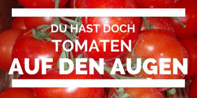 Was darf ich essesn Fructoseintoleranz Tomate