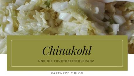 chinakohl fructoseintoleranz vegan