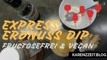erdnuss dip vegan fructosefrei