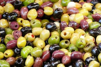 Frische Fructosearmer Brotzeit oliven