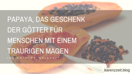 Papaya Fructoseintoleranz Magen