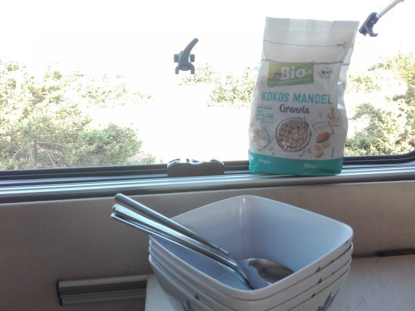 fructoseintoleranz kokos mandel granola müsli reissirup