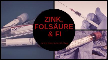 Zink, Folsäure blutwert fructoseintoleranz