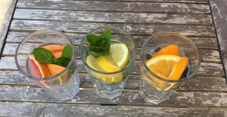 infused water fruktoseintoleranz rezept getränk